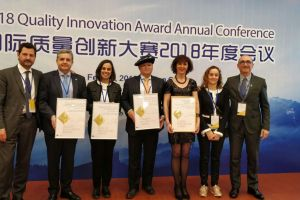 Cinco empresas vascas premiadas en el Quality Innovation Award 2018 en Pekín